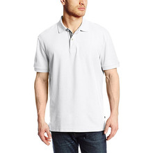 Men's Classic Short Sleeve Solid Performance Deck Polo Shirt