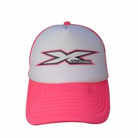 promotional foam front mesh back fashion printed trucker cap