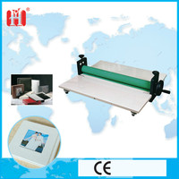 protective and decorative laminaitng machine with cold roller