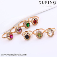 11817- Xuping Fine Jewelry Big Stone Finger Rings For Women With Good Quality