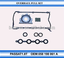 Auto car spare parts cylinder head gasket kit for OEM 058198061A china wholse factory