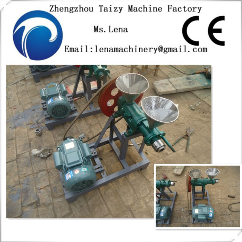 floating fish feed making machine/automatic mixing machine animal feed