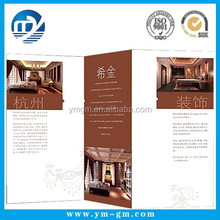 Full color printing restaurant leaflet with low price