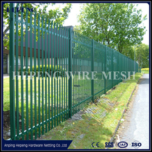 European D and W Head Steel Palisade Fencing