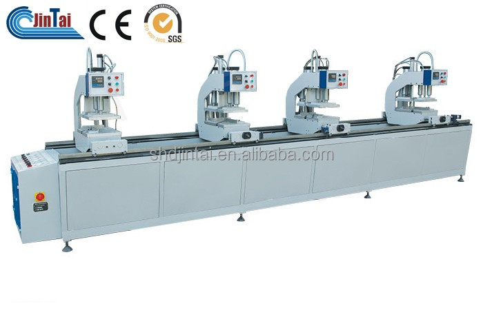 pvc 4 head welding machine for upvc window door production line