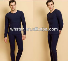 Men thermal underwear winter thermal suit 3 layers long johns