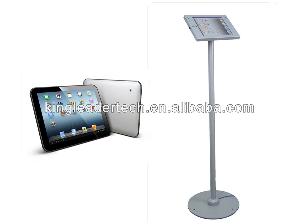 Super Slim Freestanding Android 4.2 Tablet Stand Kiosk