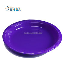 Wholesale Vacuum Forming Disposable Plastic Christmas Plate Disposable