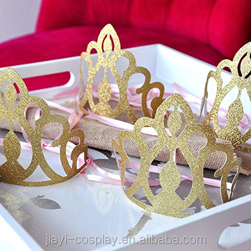 Birthday Party Decoration.Princess Crowns for Party Favors