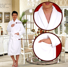 2017 new design cheap custom for hotel coral fleece bathrobe