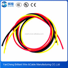 nickel core fiberglass lapping silicone rubber wire and cable