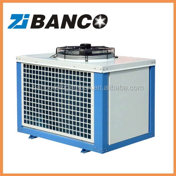 Air cooled cold room condensing unit used for frozen chicken/ice cream/fish/meat/fruit