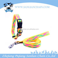 New products 2016 innovative product customized dog pet products dog colloar and leash sample