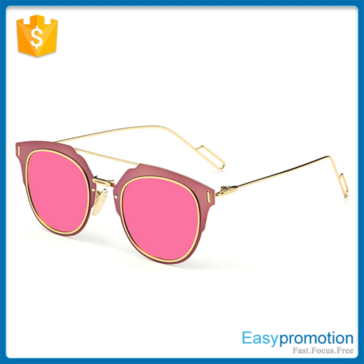 2016 New arrival Fashion metal frame sunglasses with polaroid lens