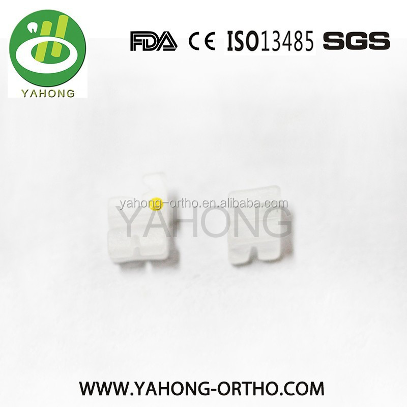 High-quality orthodontic brackets ceramic CE.ISO.FDA