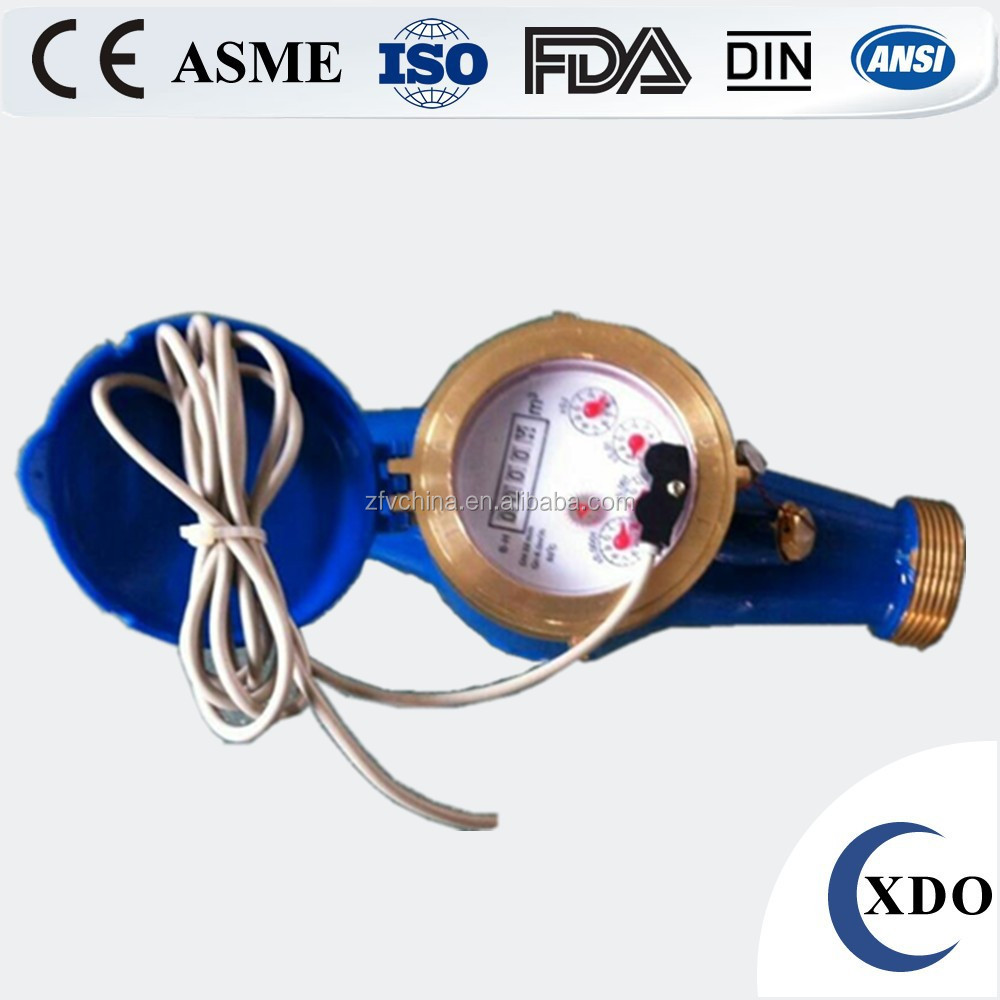 Factory Price Pulse water meter, Reed Switch Remote Reading Water Meter, drinking water meter