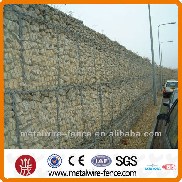 erosion control gabion boxes for river