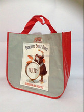 40cm x 37cm x 20cm Eco-freindly PP woven shopping bag
