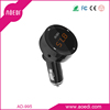 Bluetooth hands-free usb car charger fm radio transmitter car aux in adapter