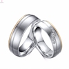 Newest Design Fancy Silver Engagement Couple Ring For Men