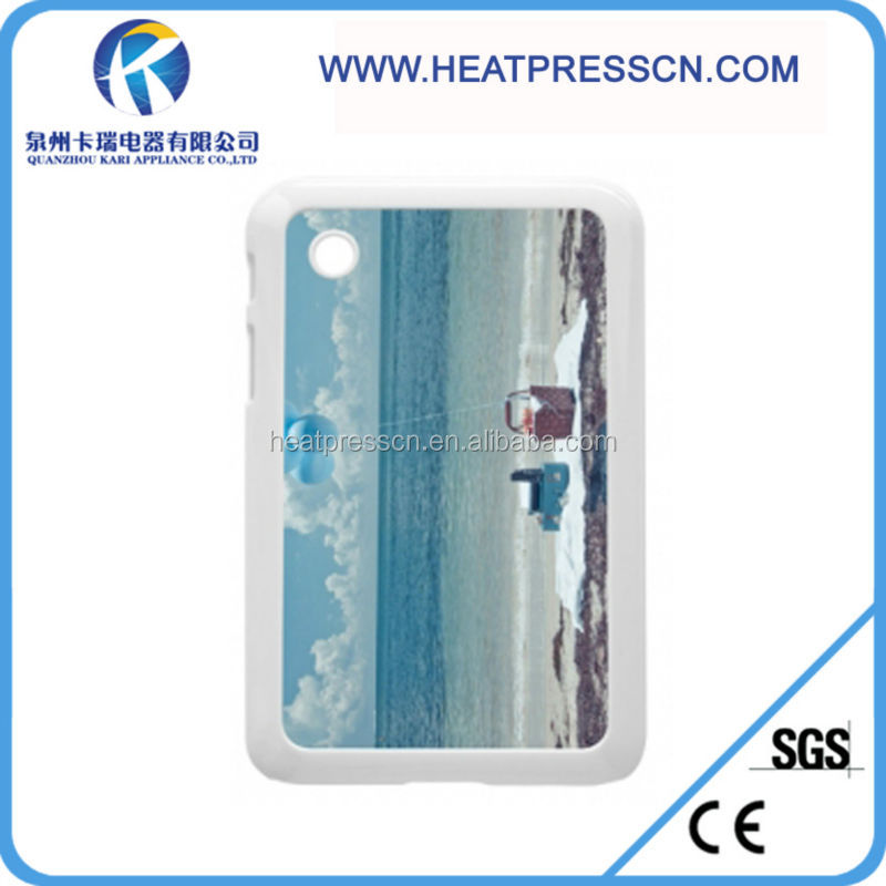 Blank Phone Case Sublimation Printable SAMSUNG Tab 2 P3100 Plastic Cover