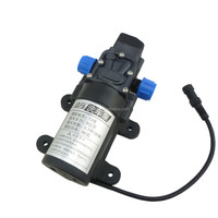 80w 5.5LPM small electric DC high pressure water pump 12v for car wash machine , spray , cleaning , pumping water , irrigation