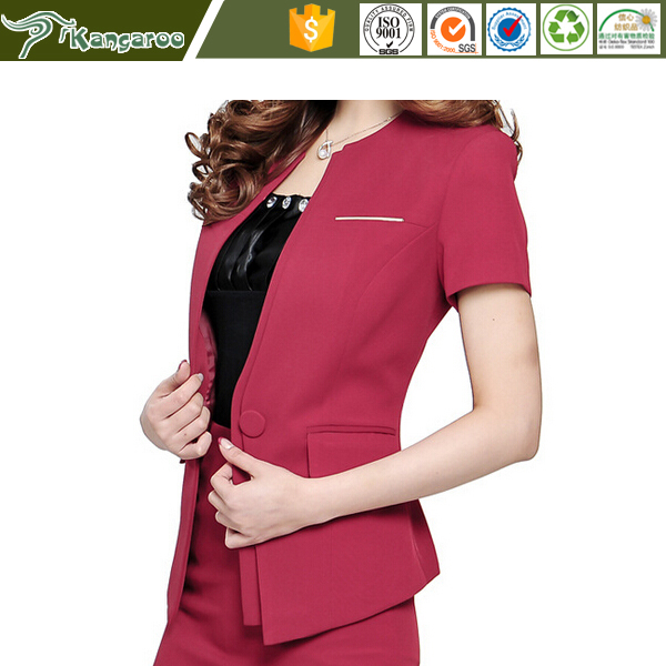 Coat Pant Suit Office Design Women Ladies Girls Pants Suit Office Uniform