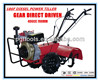 9HP Diesel Rice Rotary Rear Tine Tillers Cultivator For Sale