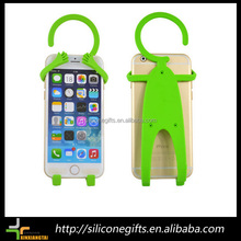 Wholesale Low Price Novelty Design Funny Mobile Cell Phone Holder Wall Rack Charger Hanger Charging Holder for Phone