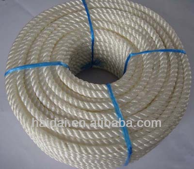 3 Strand polyester rope wholesale
