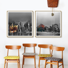 Famous Buildings Oil Painting Wall Artworks Painting Canvas printing Art