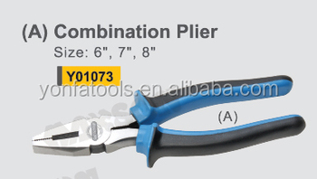 fine polished high quality combination pliers