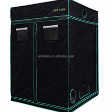 2017 NEW 120*120*210CM Indoor Plant Grow Tent Reflective Mylar Hydroponic Non Toxic Hut Garden Greenhouse Grow Room