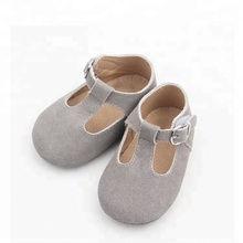 wholesale leather shoe sole unisex handmade pony hairs baby shoes