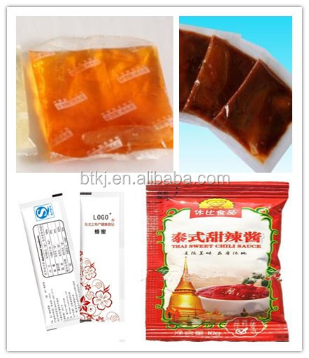 Automatic Sachet Tomato Paste Packing Filling Machine