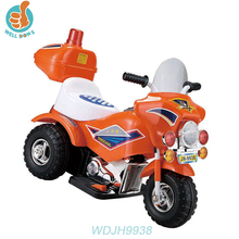 WDJH9938 Hot Sale Baby Plastic Kids Car 3 Wheel Motorcycle For Kids Electric Dirt Bike