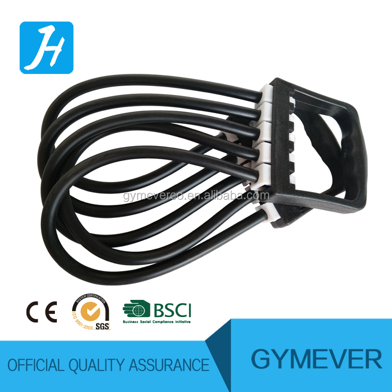 5-Spring Latex Tube Exerciser Resistance Cable Bands Fitness Puller Rubber Chest Expander Pull Stretcher Gym Muscle Training