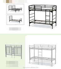 HOT SELL steel wood dormitory furniture latest metal bunk double designs army surplus single folding folding beds