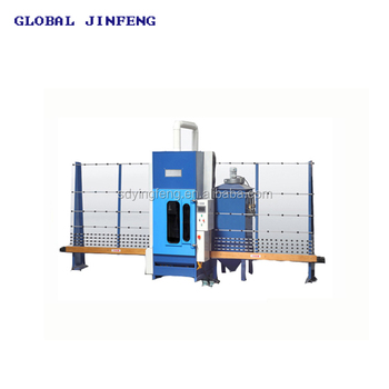 JFP-2500 automatic high efficiency glass sandblasting equipment machinery with CE