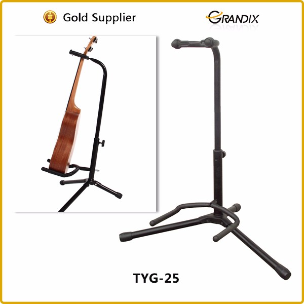 luxury music metal colored guitar stand&guitar supporter