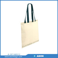 Cotton Shopper Message Tote Bags