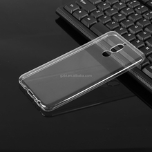 Top quality ultra thin transparent soft simple flexible TPU phone case for huawei G610 Y600 P6