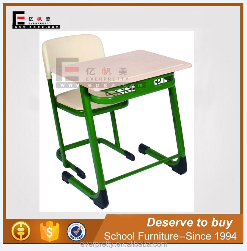 Furniture stores guangzhou used school desks cheap, adult wooden school desk