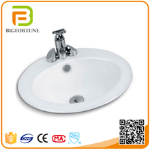 2016 Made in china oval hand wash above counter basin sink prices