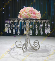 Crystal cake stand for wedding decoration