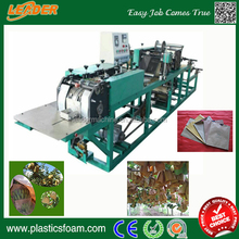 Custom kraft paper growing protection bag making machine
