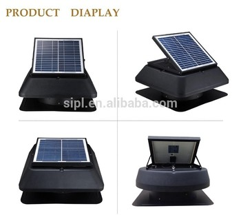 solar powered fan exhaust system solar roof ventilator mounted industrial ventilation fan