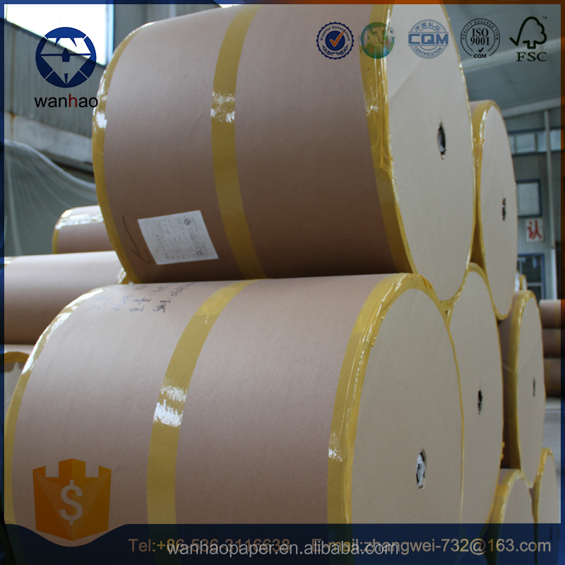 FSC white kraft paper for food wrapping