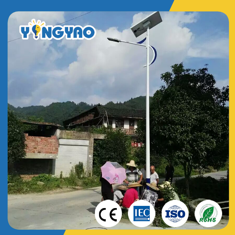 2017 New stand alone 40w solar street light with low price