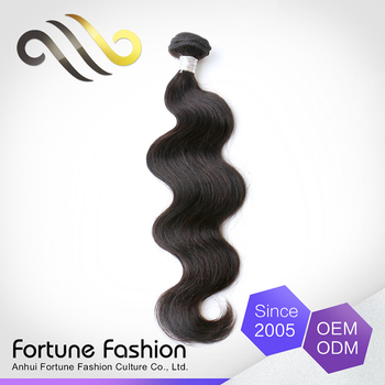 Alibaba express in spanish wholesale 100% african remy virgin human body wave hair different colors